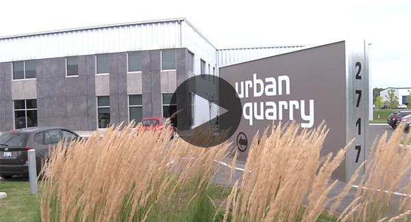 Réalisation de Drolet - client Urban Quarry